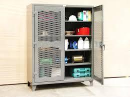 Tennsco Metal Storage Cabinet 36x24x72 Black by Metal Storage Cabinet Metal Storage Cabinet With Doors Tennsco