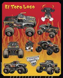 100 El Toro Monster Truck Amazoncom DCor Visuals Jam Sticker Decal Sheet