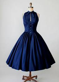 1940s Vintage Cocktail Dresses