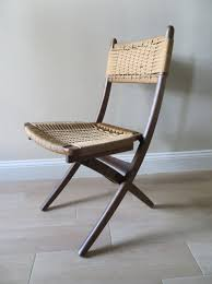 Pin By Jen On Foyer | Wood Folding Chair, Mid Century Chair ... Vintage Mid Century Modern Folding Rope Chairs In The Style Of Hans Wegner 1960s Danish Bench Vonvintagenl Catalogus Roped Folding Chairs Yugoslavia Edition Chair Restoration And Wood Delano Natural Teak Outdoor Midcentury Pair Cord And Ebert Wels The Conran Shop
