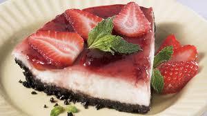 recette avec ricotta dessert tarte au yogourt à la ricotta et aux fraises recettes iga