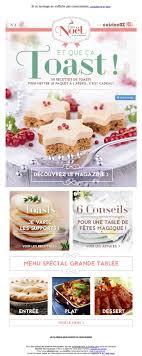 cuisine de a az galerie de newsletters de la marque the mailing book
