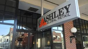 Ashley Global Retail Ybor City Tampa FL Front Entrance Sign