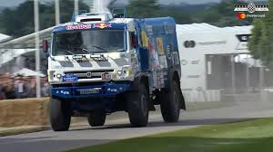 100 Redbull Truck Watch This 1000HP Red Bull Rally Blast Up The Goodwood