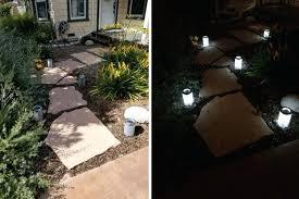 New Solar Walkway Lights And Pack Steel Solar Bollard Super Bright