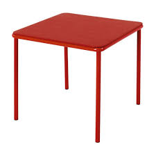 cosco red kid s table 14314red1e the home depot