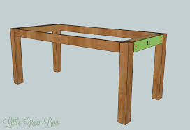Diy Plans Garden Table by Diy Pottery Barn Dining Table Plans