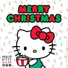 Hello Kitty Café Merry Christmas Hello Kitty Pinterest