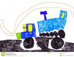 Children's Drawing. Trucks Stock Illustration. Illustration Of Road ... Kids Videos Buy Vehicles Zobic Dumper Truck Trucks For Children Video Monster Trucks Car Wash For Kids Children The Monster Big Channel Garbage Truck Youtube And More Childrens Book Em Makins Impressive Pictures Of Cstruction Cartoon Cars Making Trucks Compi Dailymotion Video Formation Babies Kindergarten Fire Accsories Puzzles Excavators Cranes Transporter Quick Learning Street Names And