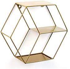 hexagon wandhalterung hexagon metall schwimmendes regal wand korb eisenregal metallregal im industrie stil wandregal für wohnzimmer schlafzimmer