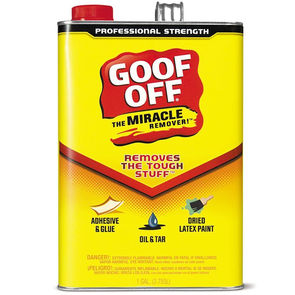 Goof Off The Miracle Remover