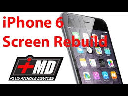 iPhone 6 & 6S Cracked screen repair glass only