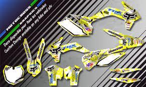 kit deco 400 drz fox ka9d kit déco perso 400 drz kit déco perso mx motocross