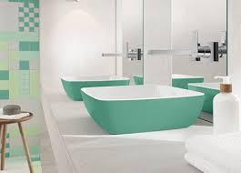 waschbecken grün villeroy boch