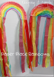 Paper Plate Rainbow Kids Craft Kid ♥ Pinterest