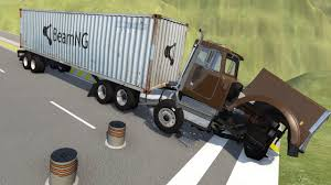 11 Best Bollards Ballards Crash High Speed Vehicle Crashes Into Bollard Barricades Beamng Drive