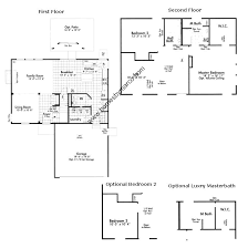 Centex Floor Plans 2010 by Glenwood Model In The Sweetwater Subdivision In Woodstock