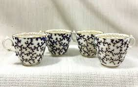 antik kuchen teller handbemalt englisch porzellan