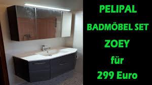 pelipal badmöbel set zoey für 299 bestes preis leistungsverhältnis aufbau vorstellung