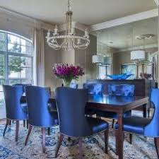 Chic Inspiration Navy Blue Dining Room Chairs New 20 Esescatrina Chair Covers Arm Velvet Leather