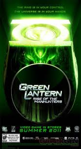 green lantern rise of the manhunters annoncé gamergen