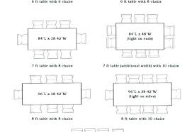 Dining Room Table Sizes Standard Width Dinning Dimensions Beautiful