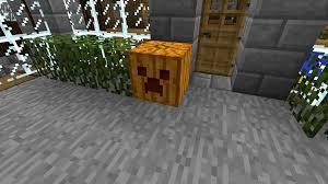 Minecraft Pumpkin Design by Carvable Pumpkins Minecraft Mods