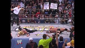 Halloween Havoc 1999 Hogan Sting by Goldberg Vs Sid Vicious Halloween Havoc 99 Goldberg Vs Sid Vicious