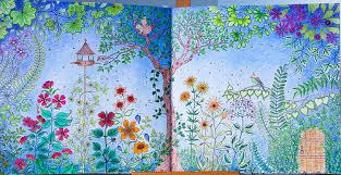 Secret Garden Colouring Book Johanna Basford Part I