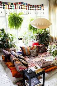 Indian Living Room With A Touch Of Bohemian