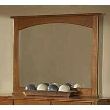 Vaughan Bassett Dresser With Mirror by Vaughan Bassett Dresser Mirrors Simply Cherry 1480 Mirror From