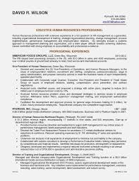 Strong Resume Headline Examples Elegant Sample Human Resources