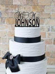 Wedding Cake Topper Personalized Decor
