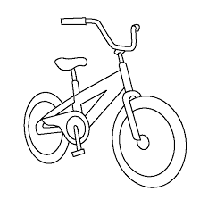 Ideal Bicycle Coloring Book