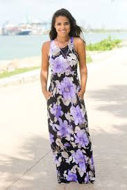 navy and lilac floral print maxi dress maxi dresses u2013 saved by