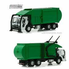 100 Garbage Truck Tab GREENLIGHT SD TRUCKS 2019 MACK LR REFUSE TRUCK 164 WHITE GREEN
