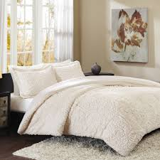 Lush Decor Belle 4 Piece Comforter Set by Full Size Miley Mini Ruffle Comforter Set Pure White Walmart Com