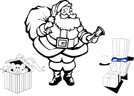 Christmas Coloring Pages Kindergarten