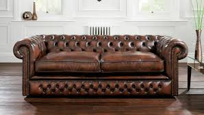 canapé lit en cuir canapé lit de style en cuir 2 places holyrood