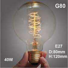 led antique retro vintage edison light bulb e27 40w 220v