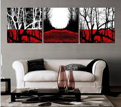 Stunning Decoration Red And Black Wall Art Famous White Abstract Paintings Google Search