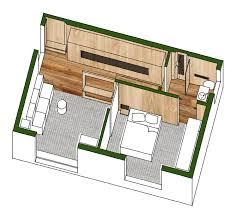 ein 35 quadratmeter großes apartment zu hause bei chen