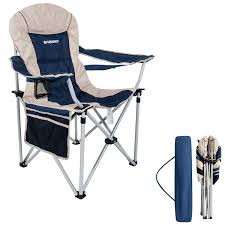 FUNDANGO Oversized Folding Camping Quad Chair Padded Arm Camp Chairs Lumbar  Back Support Steel Frame Heavy Duty 350lbs With Cup Holder And Carry Bag ... Top 5 Best Moon Chairs To Buy In 20 Primates2016 The Camping For 2019 Digital Trends Mac At Home Rmolmf102 Oversized Folding Chair Portable Oversize Big Chairtable With Carry Bag Blue Padded Club Kingcamp Camp Quad Outdoors 10 Of To Fit Your Louing Style Aw2k Amazoncom Mutang Outdoor Heavy 7 Of Ozark Trail 500 Lb Xxl Comfort Mesh Ptradestorecom Fundango Arm Lumbar Back Support Steel Frame Duty 350lbs Cup Holder And Beach Black New