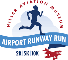 Airport Runway Run San Carlos Airport 2K 5K 10K Hiller Aviation Museum