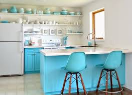 Kitchen Turquoise Metal Wall Art Modern Decor