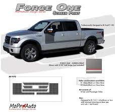 100 2014 Ford Truck Models FORCE ONE Screen Print F150 Hockey Stripe Appearance Style