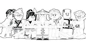 Coloring Pages Of Ninjago Free Printable Colouring Lego Snakes