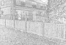 The Drawing Of Anti Climb Fence Installation Including Five Fence Tips To Help Reduce Burglaries Jacksons Fencing
