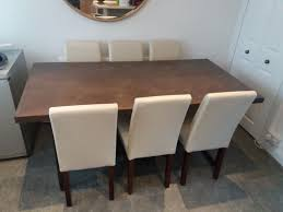 Next Dining Table And 6 Chairs