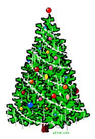 Animated Christmas Tree GIF